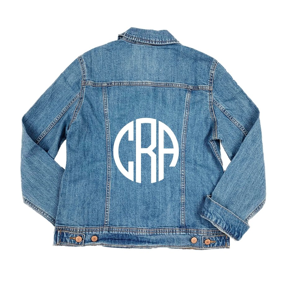 Monogram Denim Jacket