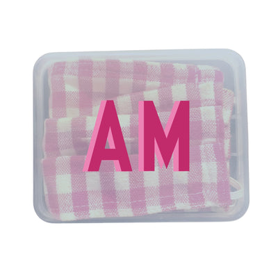 Monogram Face Mask Case