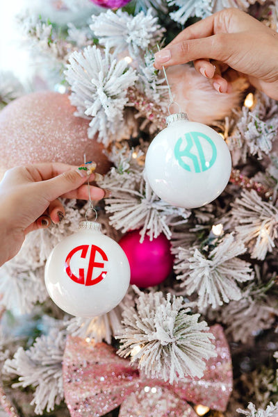 Monogram Ornament