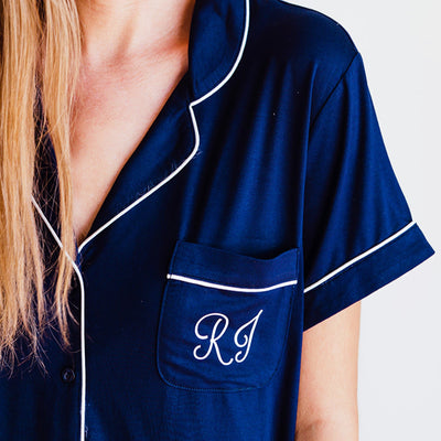 Monogram Pajama Set