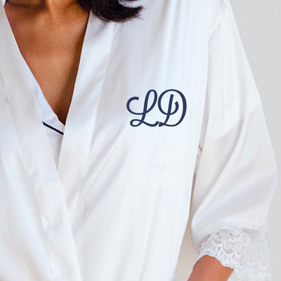 Monogram Robe - Sprinkled With Pink #bachelorette #custom #gifts