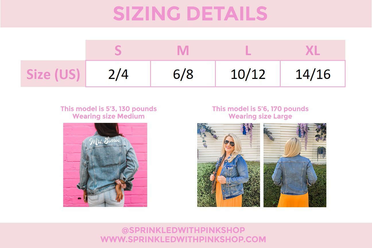 Diamond Monogram Star Denim Jacket Sprinkled With Pink