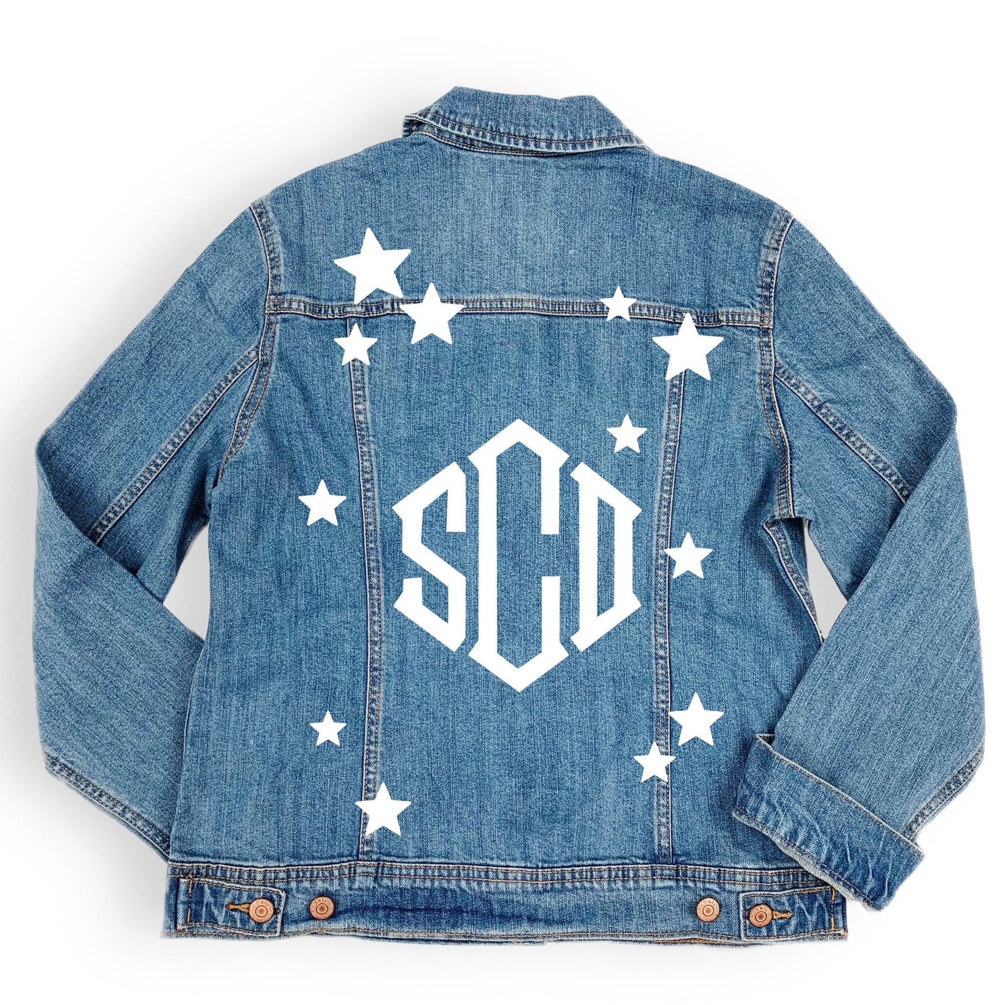 Monogram Star Denim Jacket