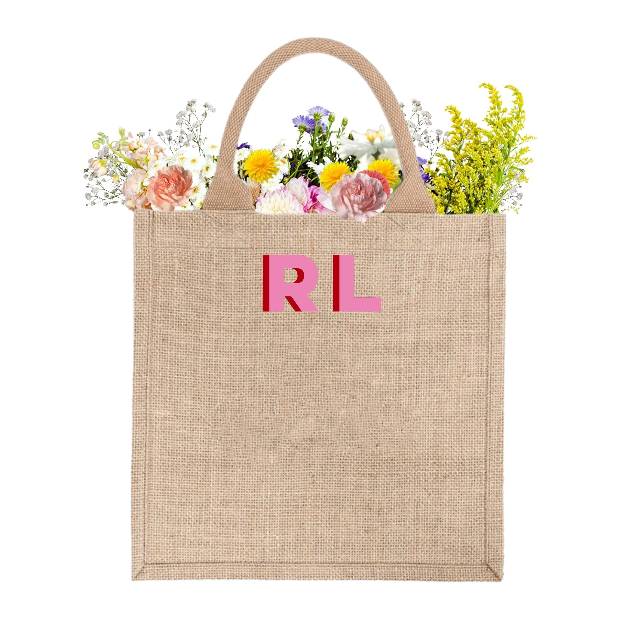 Monogram Welcome Bag - Sprinkled With Pink #bachelorette #custom #gifts