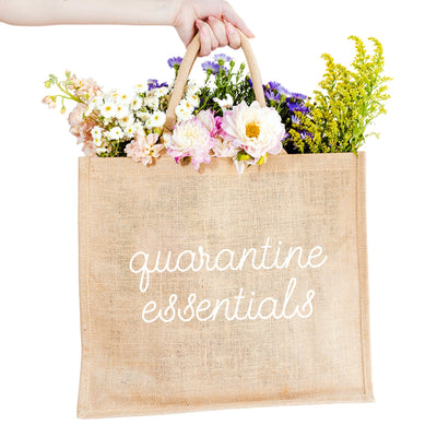Quarantine Essentials Carryall