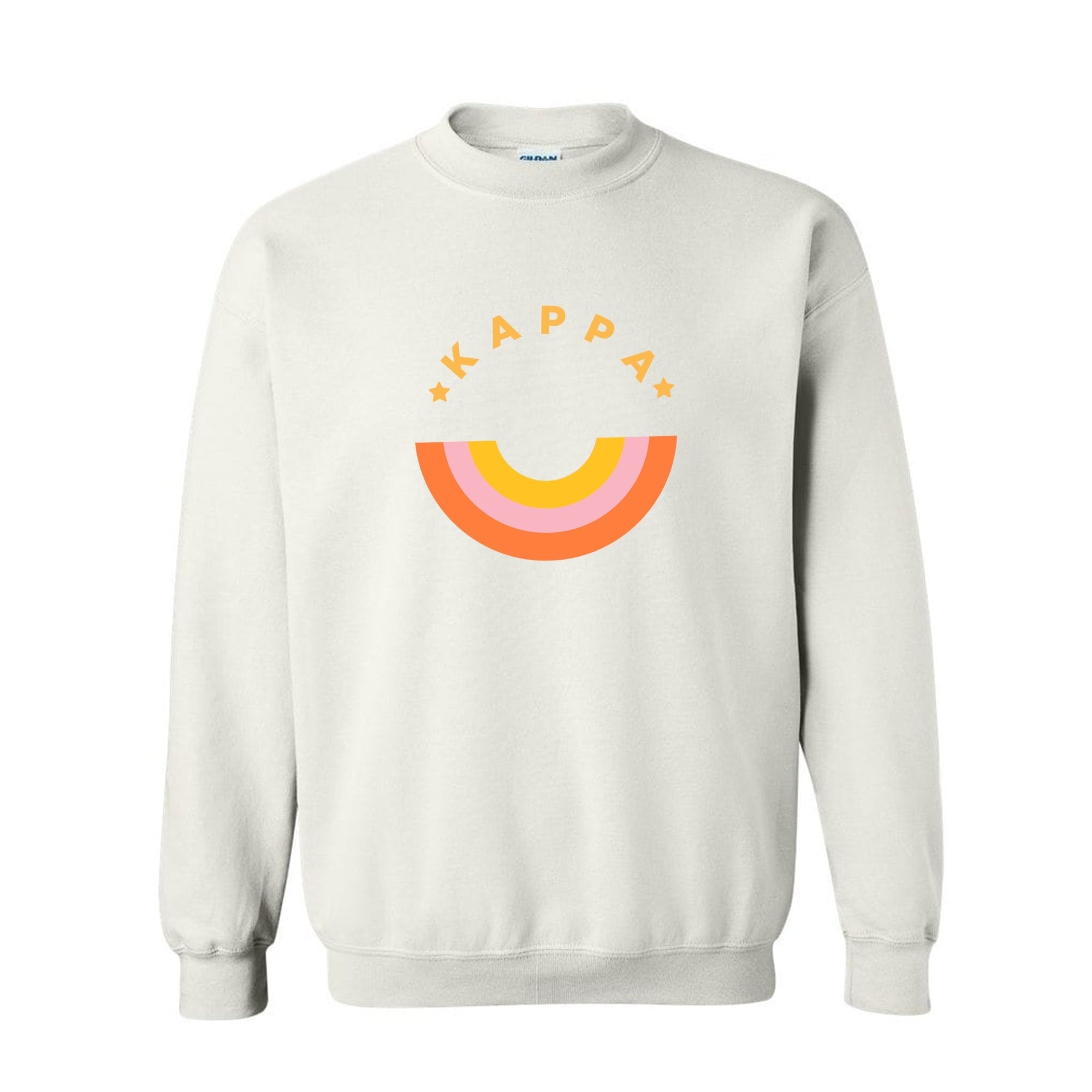 Rainbow Sorority Sweatshirt