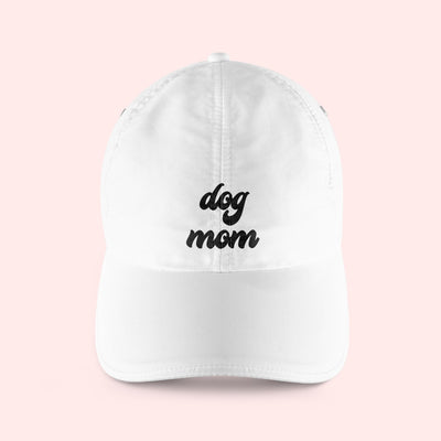 Retro Dog Mom Baseball Hat