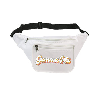 Retro Shadow Sorority Fanny Pack