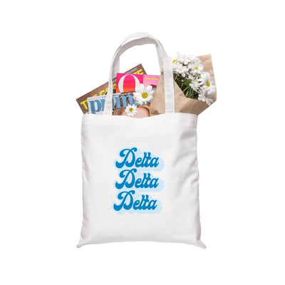 Retro Sorority Tote