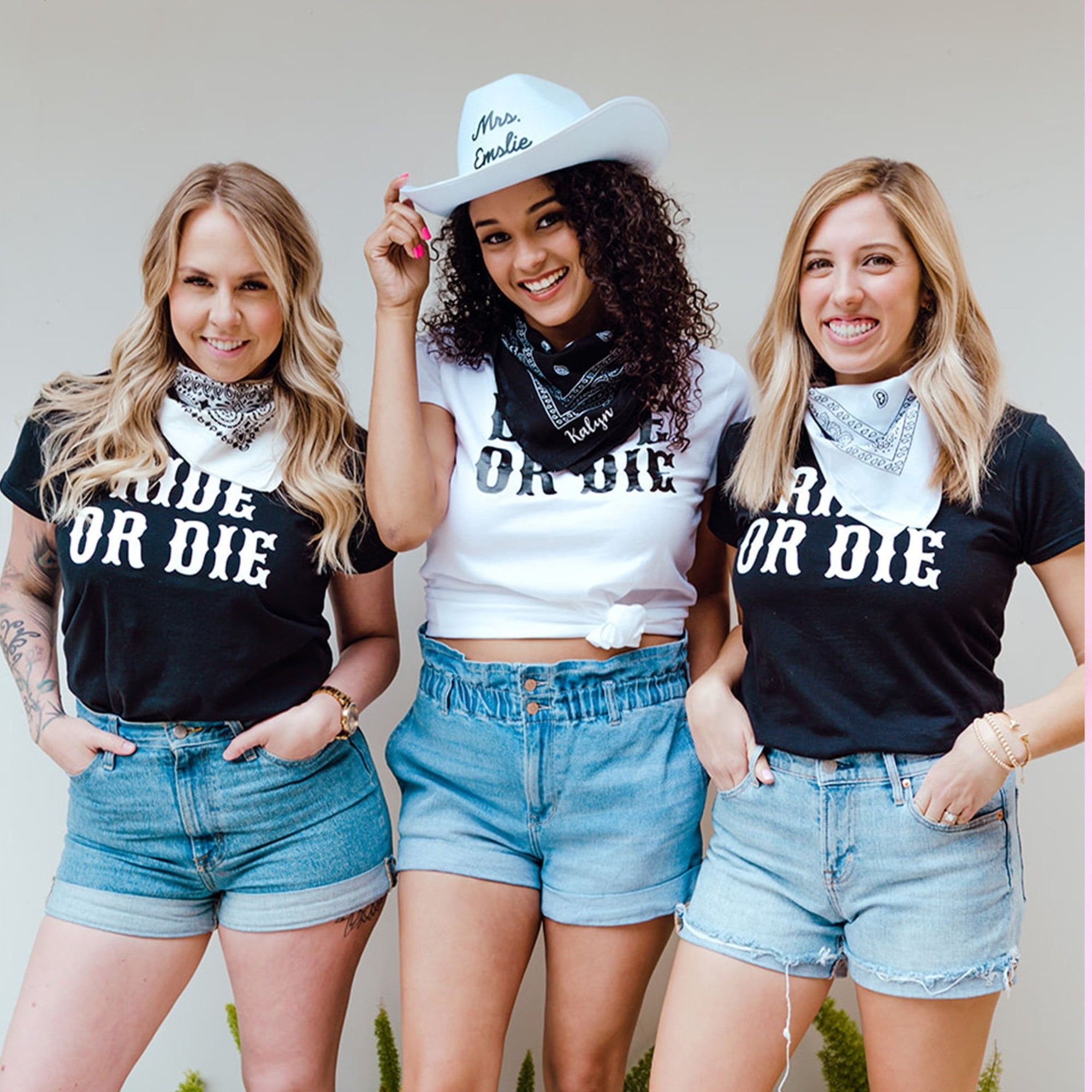 Ride or Die Shirt - Sprinkled With Pink #bachelorette #custom #gifts