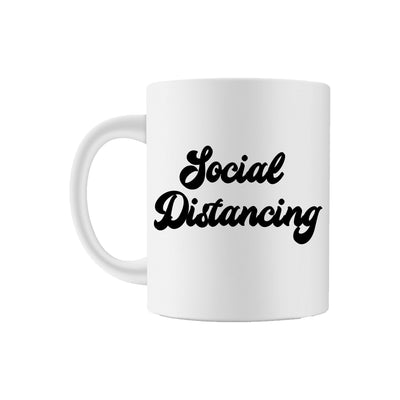 Social Distancing Coffee Mug - Sprinkled With Pink #bachelorette #custom #gifts