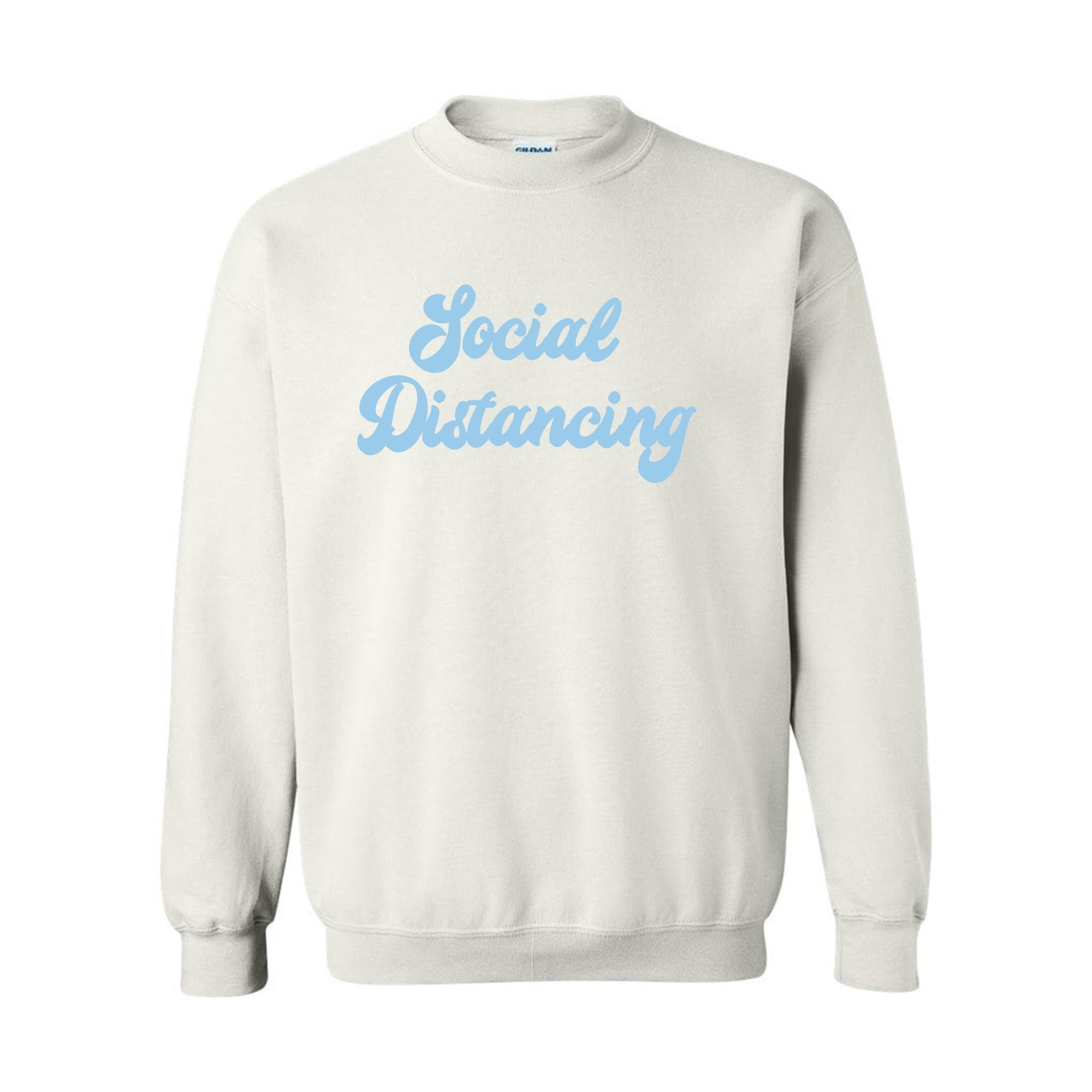 Social Distancing Sweatshirt - Sprinkled With Pink #bachelorette #custom #gifts