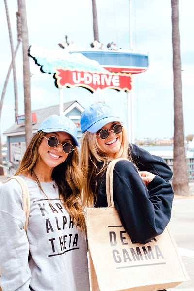 Sorority Jute Carryall