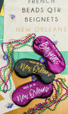 Wake Me in New Orleans Sleep Mask - Sprinkled With Pink #bachelorette #custom #gifts