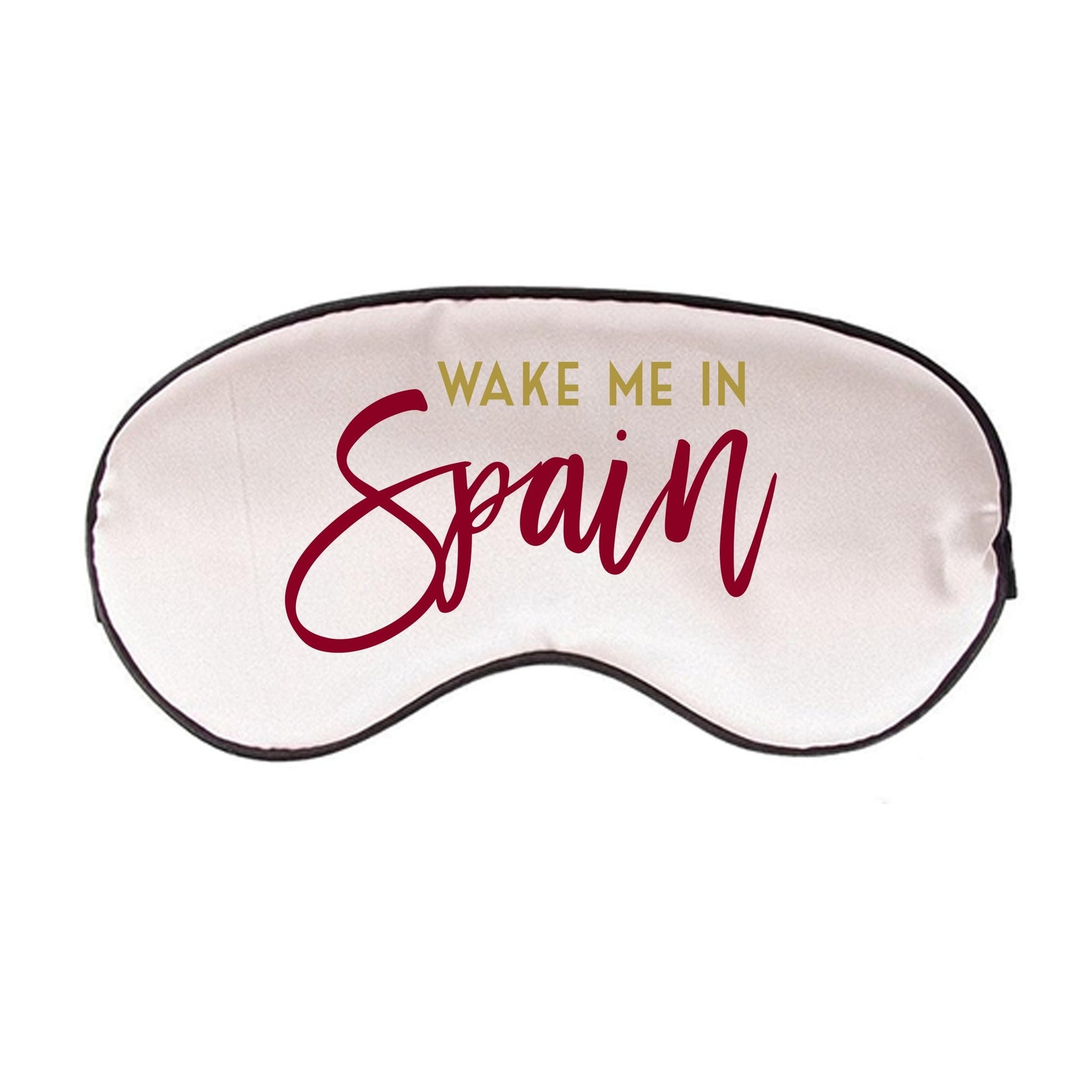 Wake Me In Spain Sleep Mask
