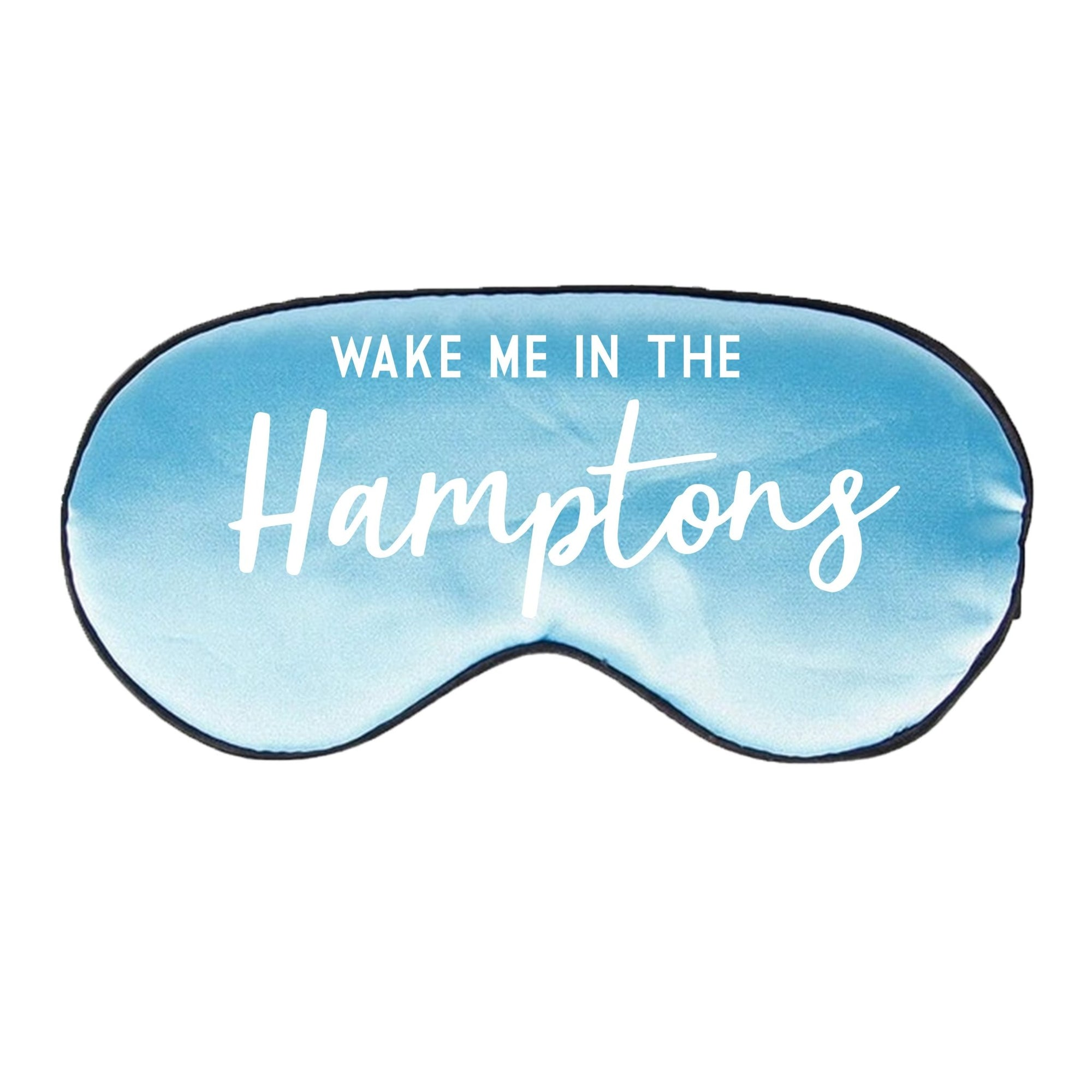 Wake Me in the Hamptons Sleep Mask - Sprinkled With Pink #bachelorette #custom #gifts