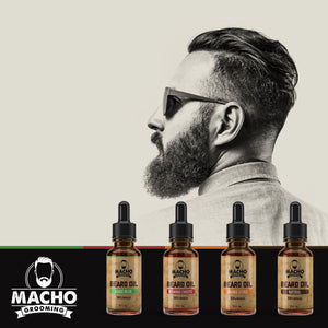 Organic Original Spartan Beard Oil 30ml - Beard Comb, Growth oil, Brushes,  trimmer & Wax