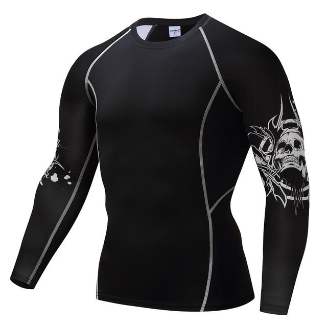 Bodybuilding Top Fitness Weight lifting Base Layer