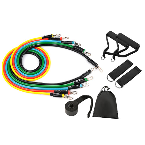 AIO ResiBands™ 11Pc Resistance Bands Set FOCUS TRAINING