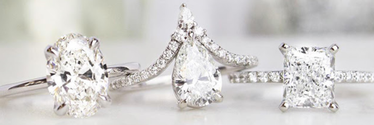April Diamond Birthstone Jewelry & Folklore , Birthstone Engagement & Wedding Rings