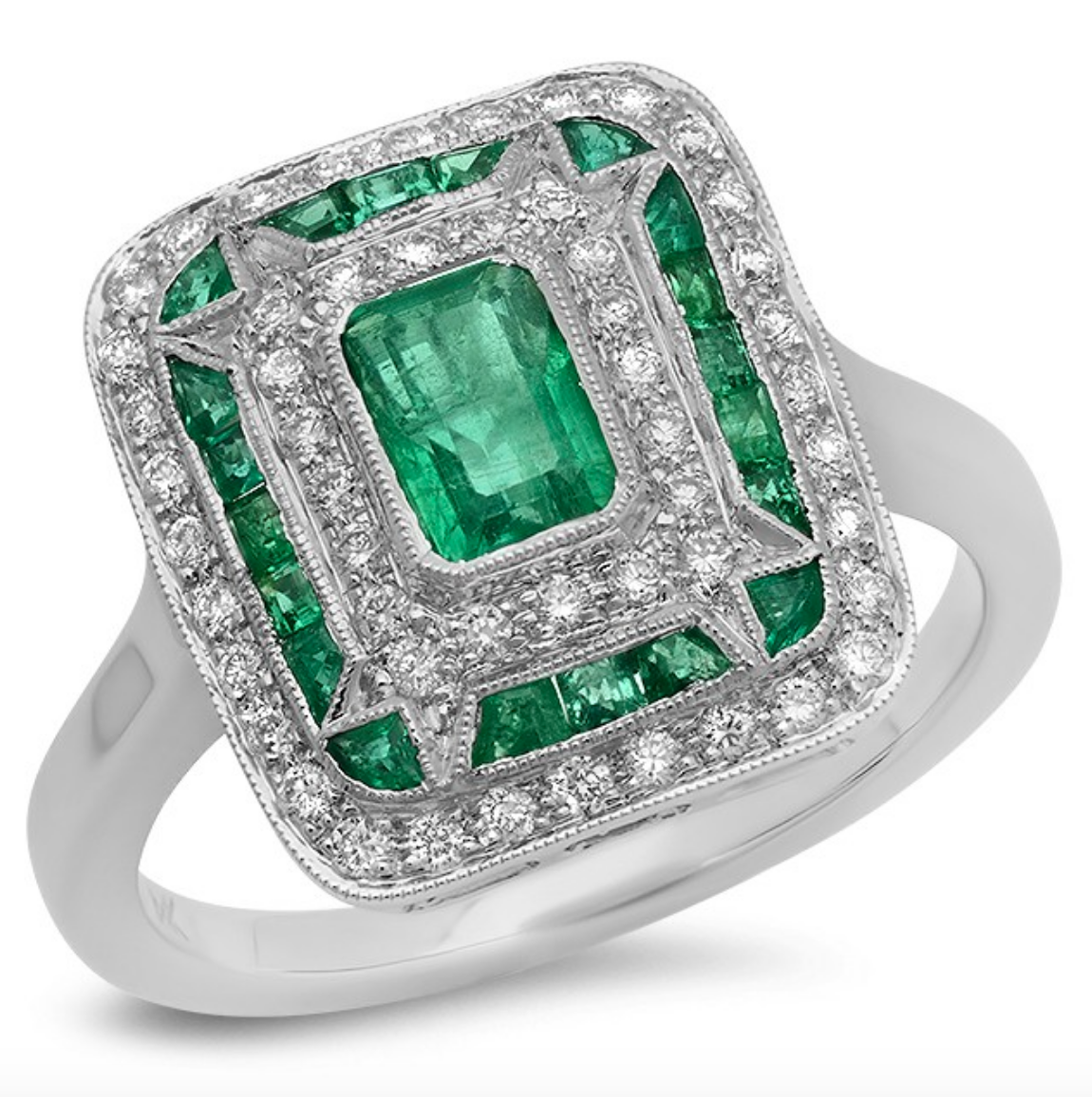 May Emerald Birthstone Jewelry & Folklore , Birthstone Engagement & Wedding Rings