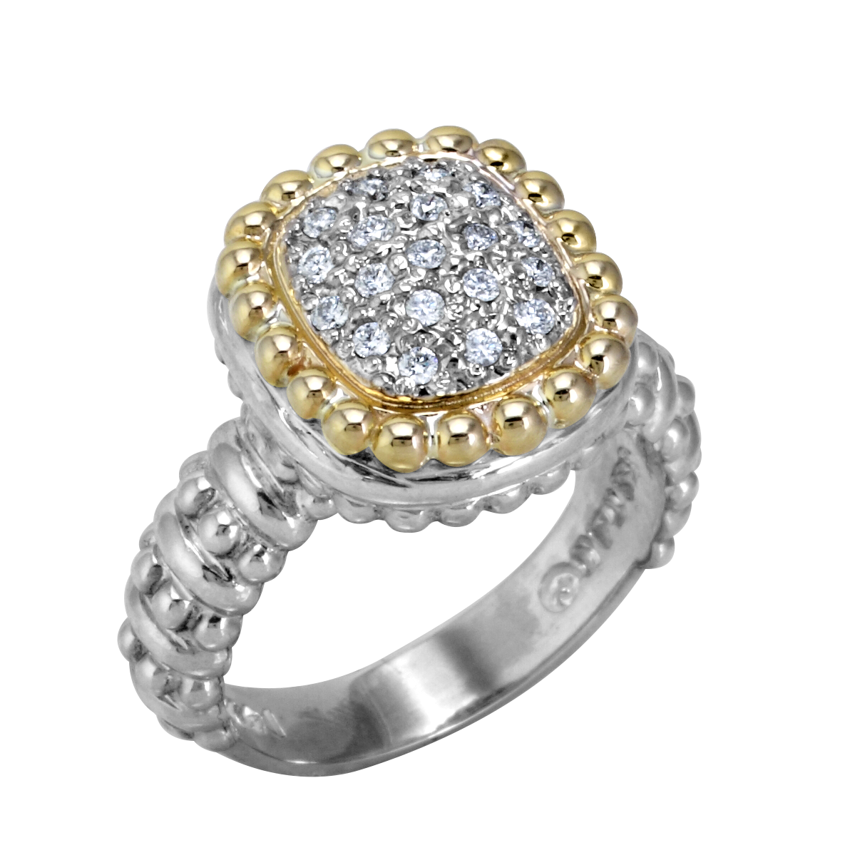 Multi-Pave Diamond Ring by Vahan - Talisman Collection Fine Jewelers