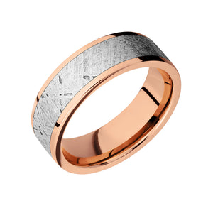 Classic Meteorite Inlay Men's Band