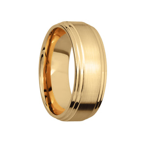 Flat Double Stepped Edge Men's Band