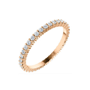 14k Gold 1/2 Carat Diamond Eternity Band - Talisman Collection Fine Jewelers