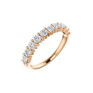 14k Gold 1 Carat Diamond Anniversary Band