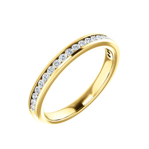 talisman collection fine jewelers 14k gold diamond anniversary band