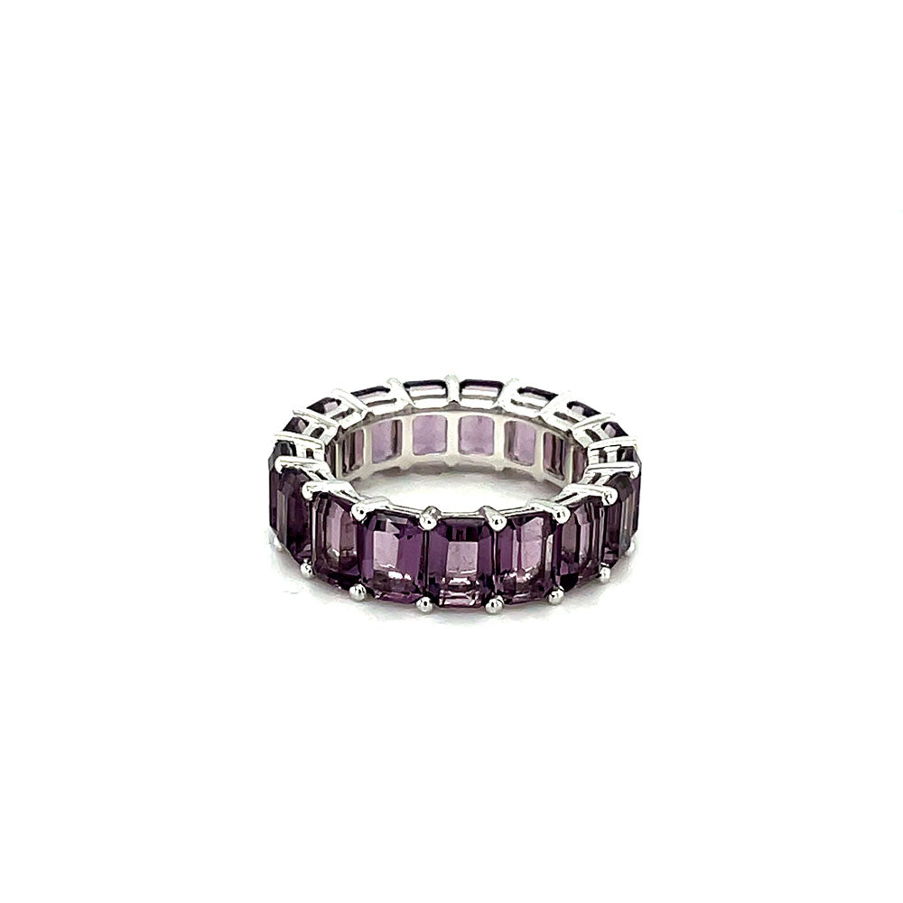 Amethyst Eternity Band by Gemma Couture