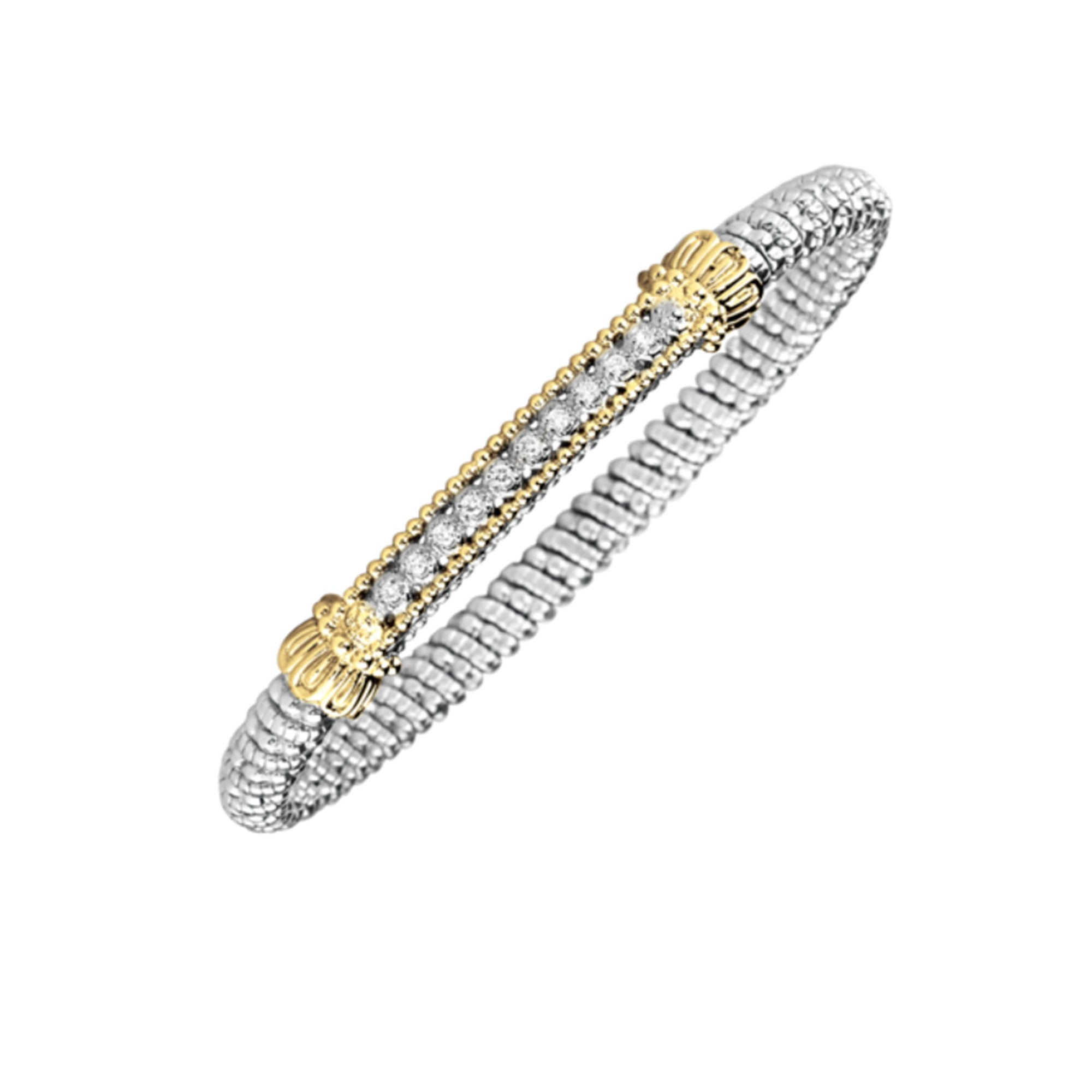 Medium Diamond Bar Bracelet by Vahan - Talisman Collection Fine Jewelers