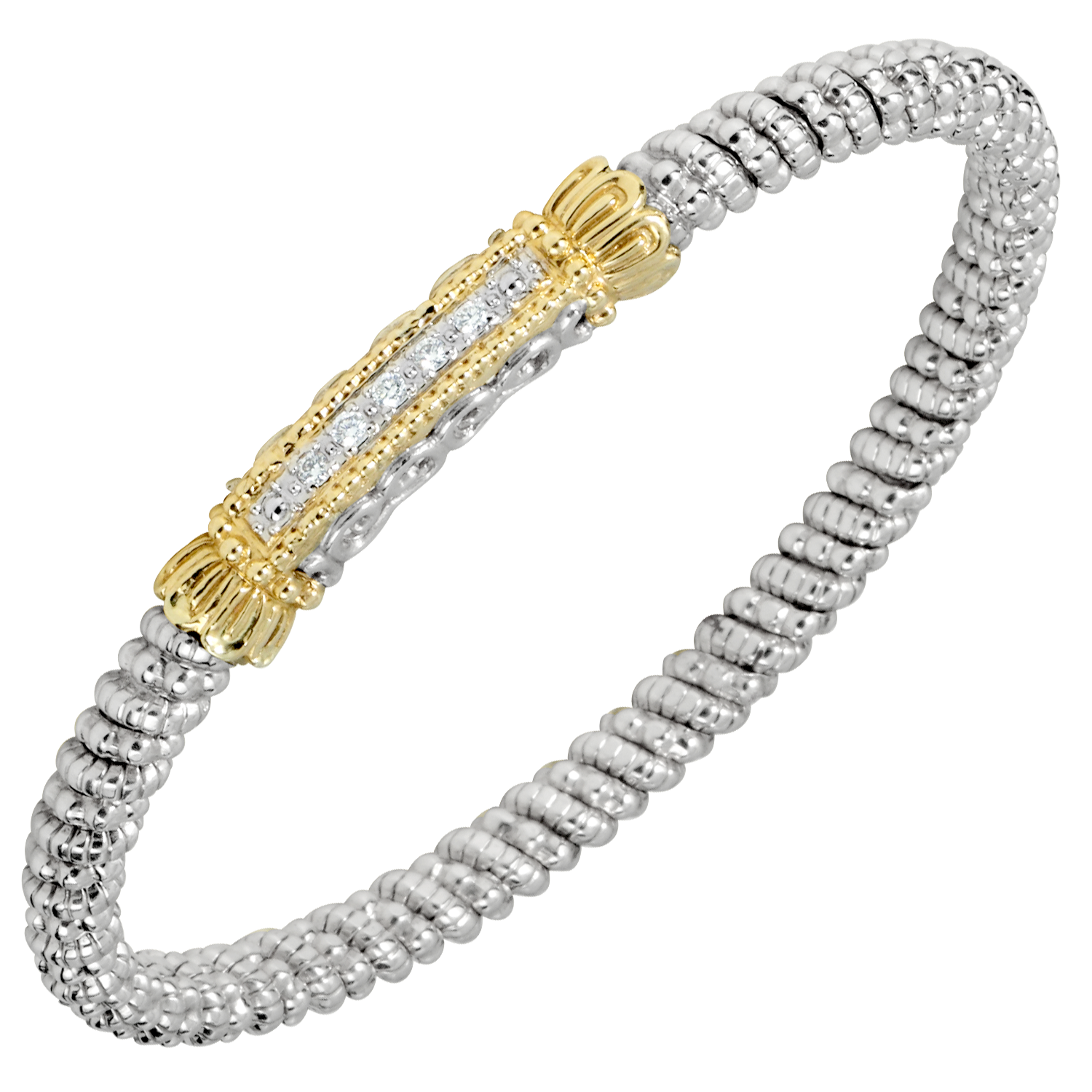 Petite Diamond Line Bracelet by Vahan - Talisman Collection Fine Jewelers