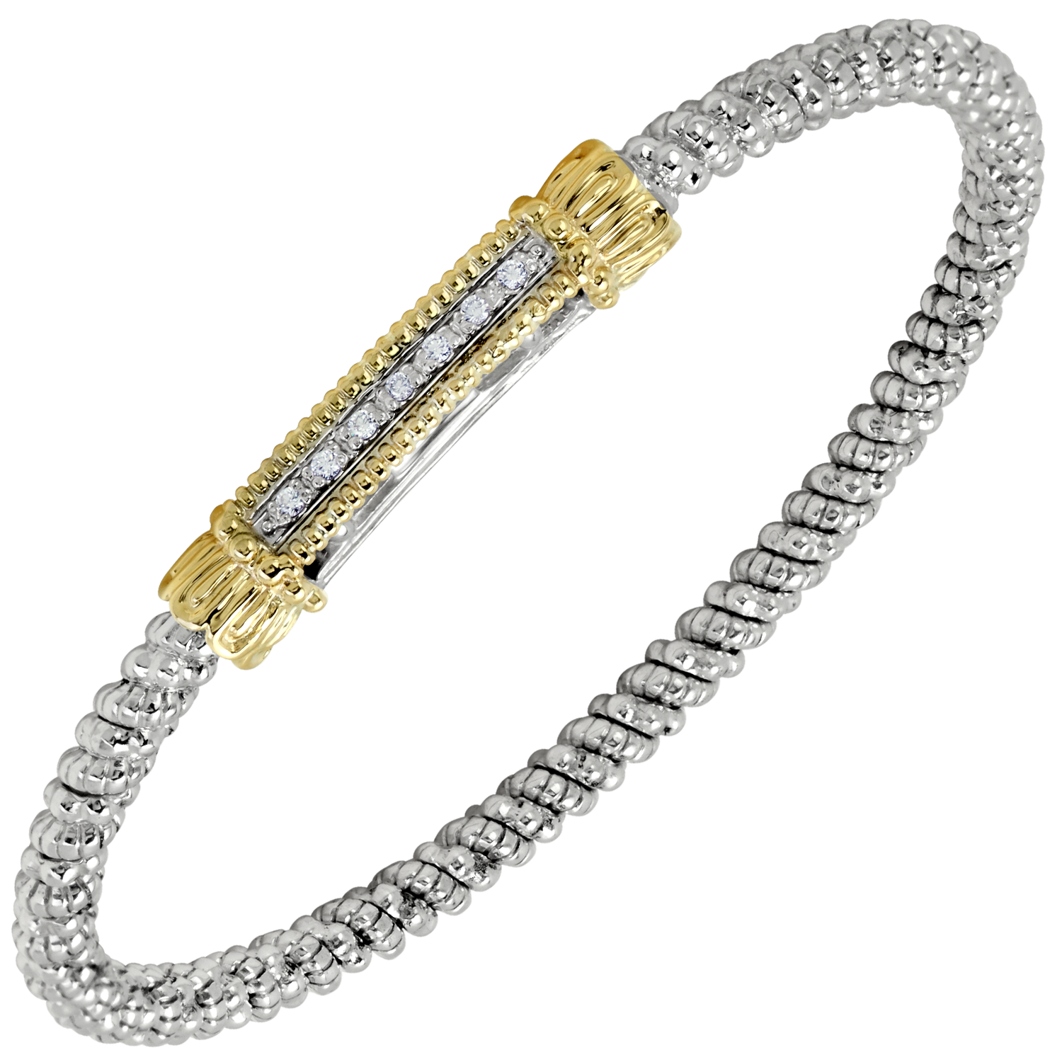 Petite Diamond Bar Bracelet by Vahan - Talisman Collection Fine Jewelers