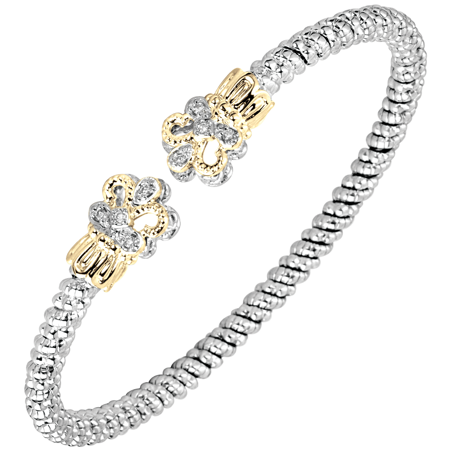Petite Diamond Fleur Bracelet by Vahan - Talisman Collection Fine Jewelers