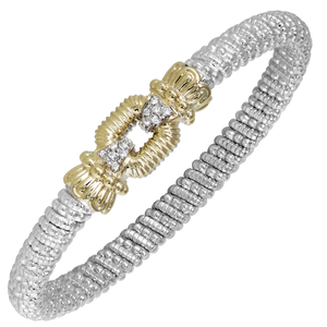 Open Square Diamond Bracelet by Vahan - Talisman Collection Fine Jewelers