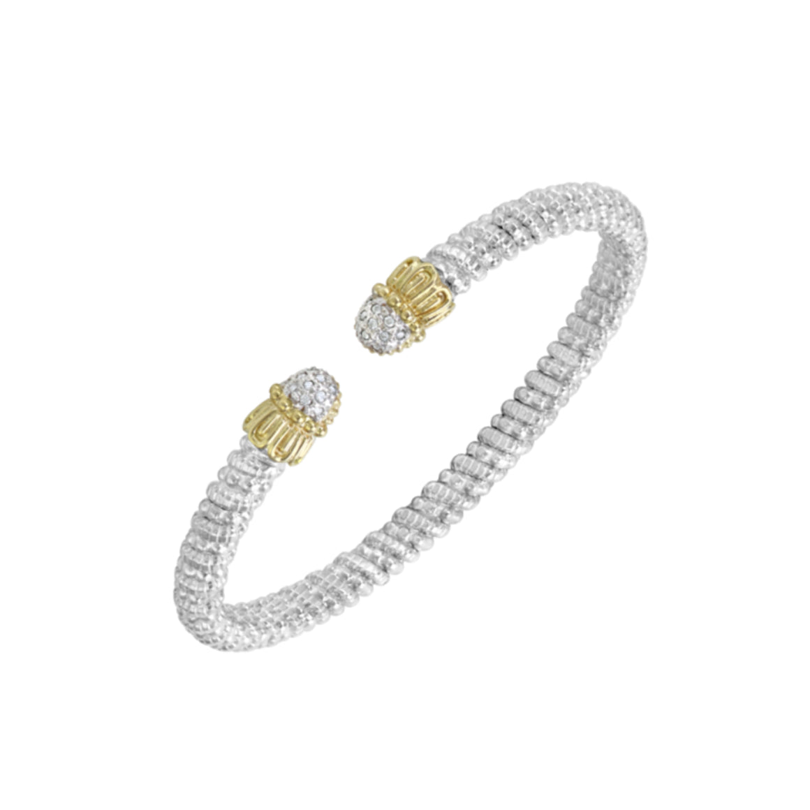 Diamond Petite Nuvo Bracelet by Vahan - Talisman Collection Fine Jewelers