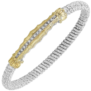 Diamond Nuvo Bar Bracelet by Vahan - Talisman Collection Fine Jewelers