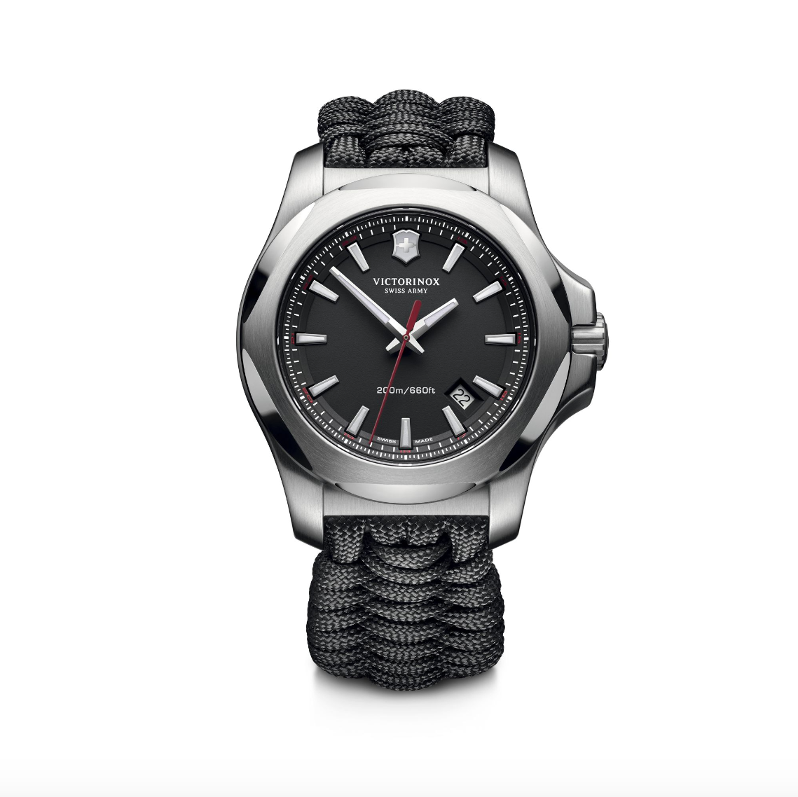 Victorinox Swiss Army Black Paracord I.N.O.X. - Talisman Collection Fine Jewelers