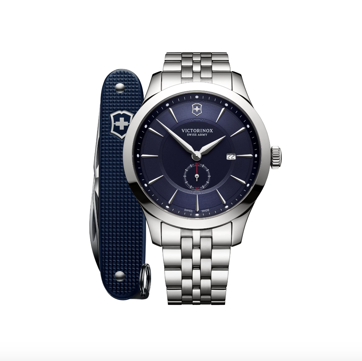 Victorinox Swiss Army Blue Alliance with Pioneer Swiss Army Knife - Talisman Collection Fine Jewelers