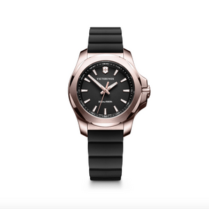Victorinox Swiss Army Black and Rose Gold I.N.O.X. V - Talisman Collection Fine Jewelers