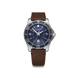Victorinox Swiss Army Blue and Brown Maverick - Talisman Collection Fine Jewelers