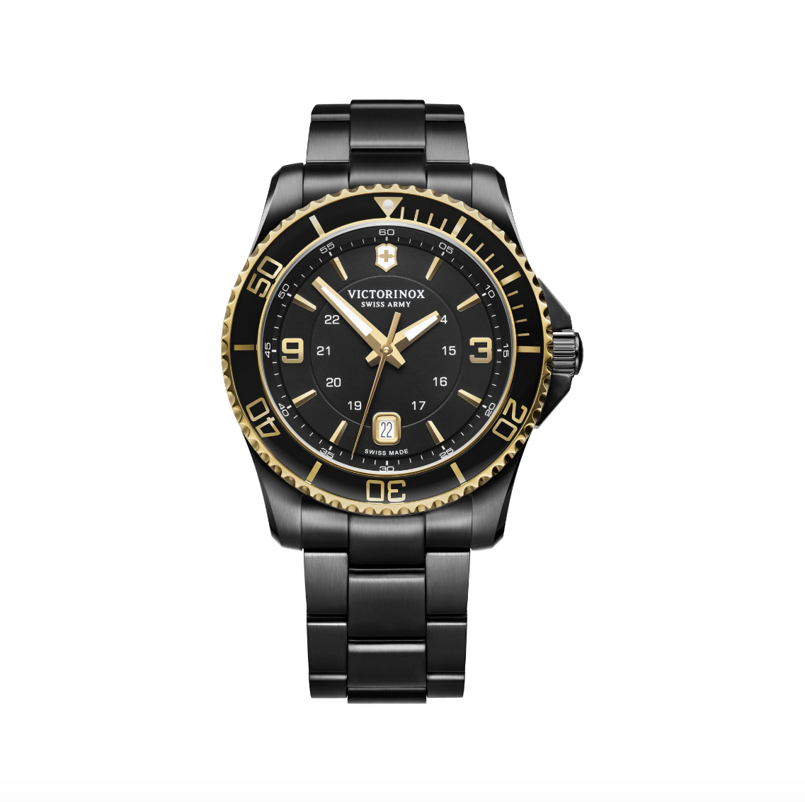 Victorinox Swiss Army Maverick Black and Gold Edition - Talisman Collection Fine Jewelers