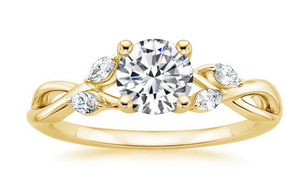 14k Yellow Gold Diamond Ring Connor