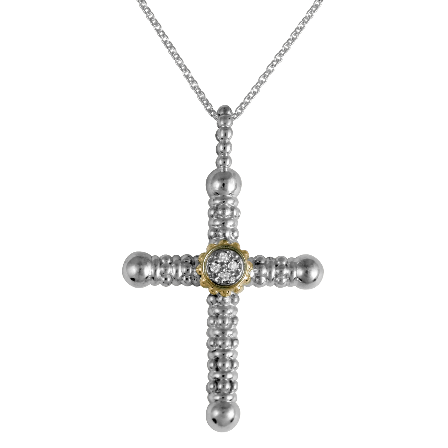 Diamond Cross Necklace by Vahan - Talisman Collection Fine Jewelers