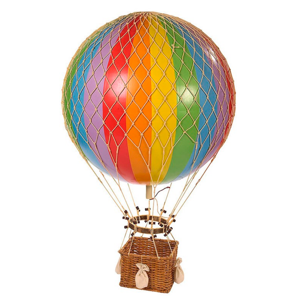 Authentic Models Jules Verne Large Hot Air Balloon - Talisman Collection Fine Jewelers