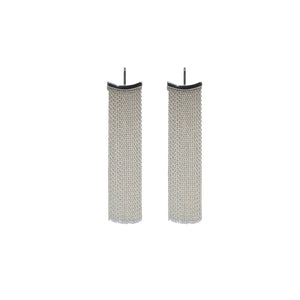 Fringe Earrings - Silver - Talisman Collection Fine Jewelers