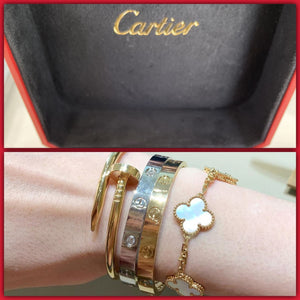 Cartier Love Bracelet 18k Yellow Gold Size 19 - Talisman Collection Fine Jewelers