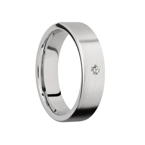 Single Diamond Men's Band - Talisman Collection Fine Jewelers